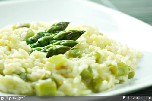 recette du risotto aux asperges vertes  une recette qui sent bon le  printemps