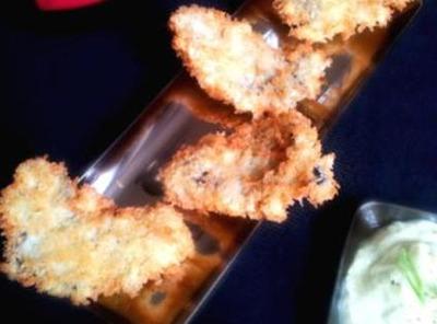 beignet huitre panko